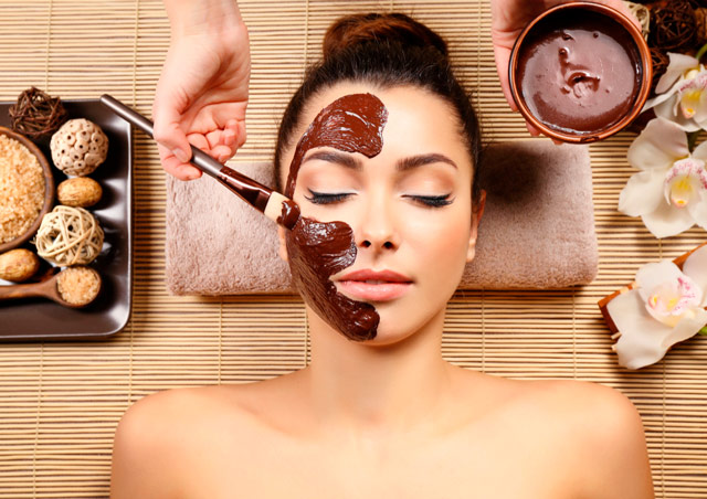 •Hydrating and nourishing chocolate mask